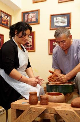 Обучение гончарному ремеслу лепке из глины в Москве мастерская ГончаровЪ
